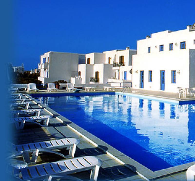 Appartementen Naxos Holidays - Naxos stad - Naxos
